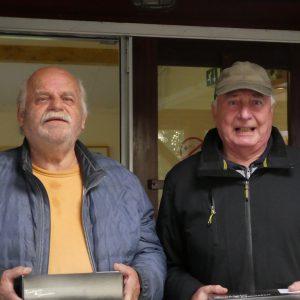 SVP Jan Elzinga en Gerrit Kooistra